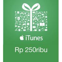 iTunes Gift Card Indonesia IGC 250