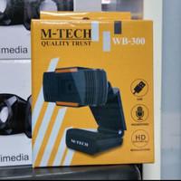 Webcam HD MTECH WB-300( USB webcam MTECH webcam Mtech HD1080 WB300
