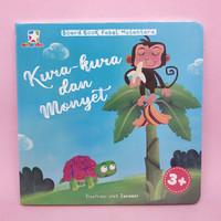 Opredo Board Book Fabel Nusantara - Kura-Kura Dan Monyet by Tim Opredo