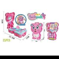 mainan backpack pet ( cat princess ) / mainan anak anak