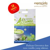 Esprecielo Allure Vanilla Green Tea Latte Eco Bag - 14 Sachet @24gram