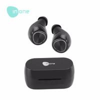 Inone Earphone Bluetooth TWS Wireless Air 1 Black New with One Step