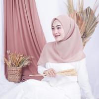 Suya Corn Skin Square Hijab part 1