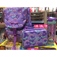 Smiggle Backpack Set Bottle Pencil Case Tas Anak Mermaid Original Asli