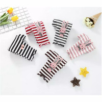 Stripe Kitty Legging for Toddlers / Celana Panjang Anak Bayi - BLACK