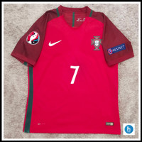 Jersey Portugal Home Full Patch Euro 2016 CR7