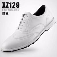 PGM baru!Sepatu golf pria anti slip slip tahan air desain microfiber k
