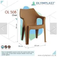Kursi plastik Olymplast 508