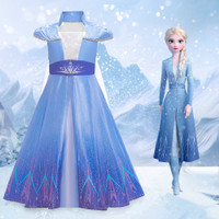 Jual Beli Baju Elsa Frozen 2 tangan pendek terbaru Kostum Elsa Frozen
