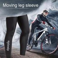 Manset kaki sepeda leg warmer satu pasang