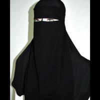 cadar bandana string sifon arab original hijaabiyyah