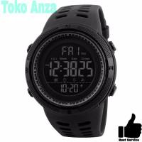 Jam Tangan Pria / SKMEI 1251 Men Double Time Digital Original - Hitam