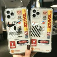 SOFT CASE CASING SILIKON iPhone 6 6s 7 8 plus X DHL NIKE OFF WHITE