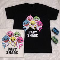 Baju kaos kids baby shark ( 2-7th )