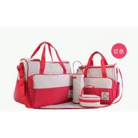 Diaper Bag Tas Perlengkapan Bayi Travelling Bag Multifungsi