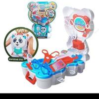 mainan doctor pet panda / mainan edukasi backack