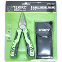 tekiro multifunction pliers 18in1 saw can opener tang obeng kikir