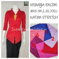 9500 Kebaya Encim Katun Stretch Lengan 7/8 Kebaya Bordir Supplier Keba