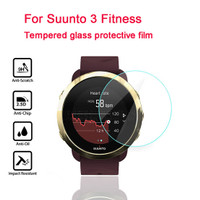 Tempered glass SUUNTO 3 FITNESS watch anti gores screen guard kaca