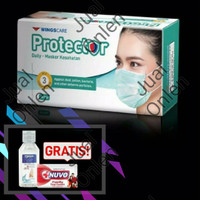 Masker 3ply (Wings Care Protector Mask) / Daily Masker Kesehatan