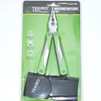 tekiro multifunction pliers 17in1 saw can opener tang obeng kikir