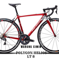 Sepeda Balap Polygon HELIOS LT 8 2020 Ready stok Size M
