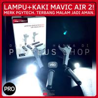 ✅ PGYTECH HEADLIGHT LAMPU DEPAN + LANDING GEAR KAKI DJI Mavic Air 2