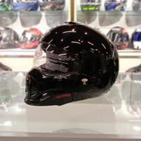 BELL BROOZER GLOSS BLACK | HELM MOTOR MODULAR | HELM FULL FACE