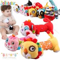 Mainan boneka genggam bayi ada bunyi / Baby rattle stick mirror