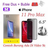 MAXFEEL Tempered Glass 3D AntiSpy Anti Spy Iphone 11 Pro Max Premium