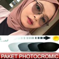 Kacamata Minus Wanita Terbaru Tipe1303 Gratis Lensa Photocromic