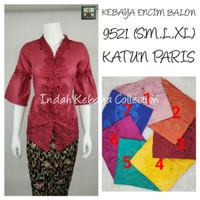 8942 Indah Kebaya Modern Encim Kutubaru Bali Murah Batik Bordir Brokat