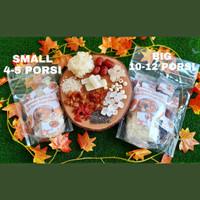 Paket Peach Gum Dessert Premium extra Snow bird nest - 11 bahan