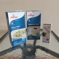 PAKET Anchor Extra Yield Cooking Cream + Anchor Whipping Cream