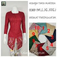 8942A IndahKebaya Modern Encim Kutubaru Bali Murah Batik Bordir Brokat