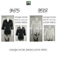 9063 Indah Kebaya Modern Encim Kutubaru Bali Murah Batik Bordir Brokat