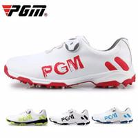PGM GOLF-XZ103 Sepatu Sneakers Warna Putih Simple Trendy Casual + Sol