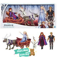 Disney Frozen 2 Sledding Adventure Doll Pack Original / Mainan Boneka