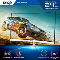 Gaming Monitor LED 24 inc Spc Pro SM Curve Full HD 75hz