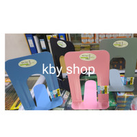PEMBATAS BUKU BESI BESAR 20CM BOOKEND HOLDER BOOK END