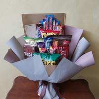 Snack Bouquet / Buket Jajanan Coklat + Ciki
