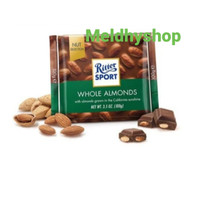RITTER SPORT CHOCOLATE WHOLE ALMONDS 100gr
