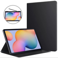 Samsung Tab S6 Lite P615 P610 Book Cover Flip Case With Slot Pen Stand