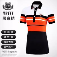 Produk Baru Pakaian Golf Baju Olahraga Wanita Musim Panas Lengan