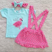 Andrea Overall / Overall Bayi Perempuan Lucu Murah / Baju Bayi Cewe