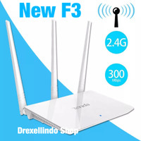 Tenda F3 Wireless Router 300Mbps 2.4 Ghz