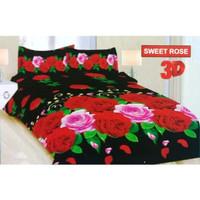 Sprei Bonita Size King 180 x 200 Motif - Sweet Rose