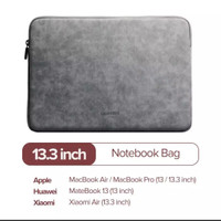 Ugreen sleeve case new macbook leather 13 13.3 inch air pro 2019 2020