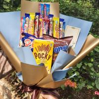 Snack Bouquet / Buket Jajanan utk Wisuda