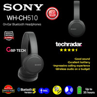 Sony WH CH510 / WH CH 510 Wireless On-Ear Headphones Original